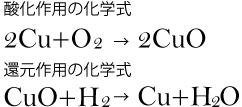 酸化作用と還元作用