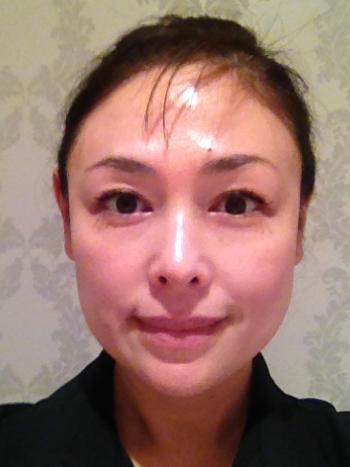 顔の筋肉を意識