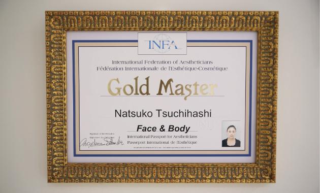 国際ライセンス ゴールドマスター合格しました!