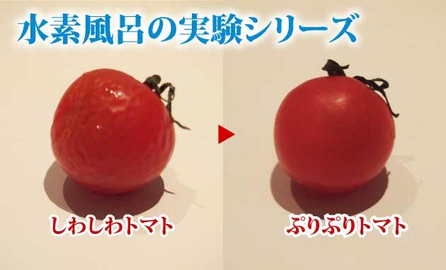 水素風呂のすごーい威力!~実験編~ 【動画あり】