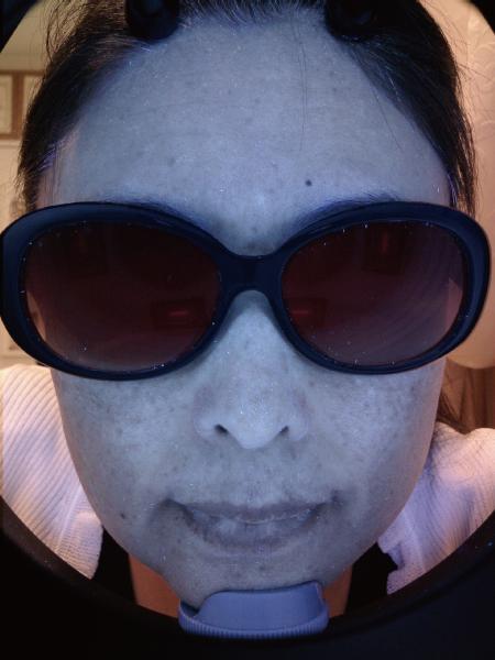 サングラスで紫外線カット