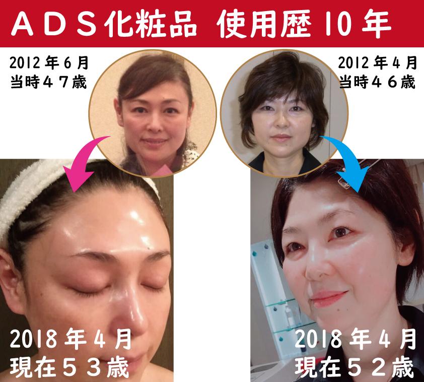 ドクターリセラ化粧品使用歴10年