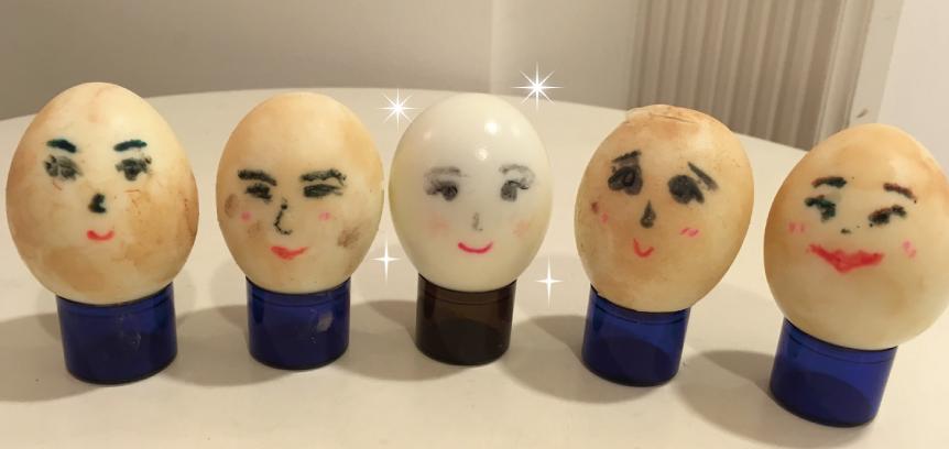 レイテノールのゆで卵